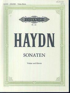 HAYDN-Sonaten-Partitur-Klavier