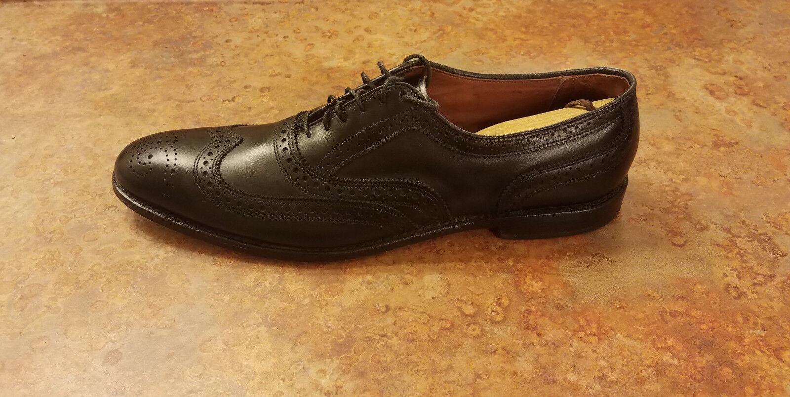 Allen Edmonds 'McAllister' Wingtip Oxfords Black Leather Mens 13 3A MSRP