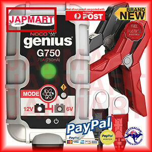 Noco-Genius-G750-75-Amp-Ultrasafe-Smart-Battery-Charger-AU-STOCK-CHEAP