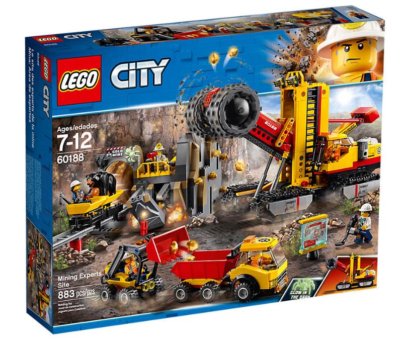 LEGO CITY MINA AREA DE EXPERTOS SET 60188 NUEVO NEW