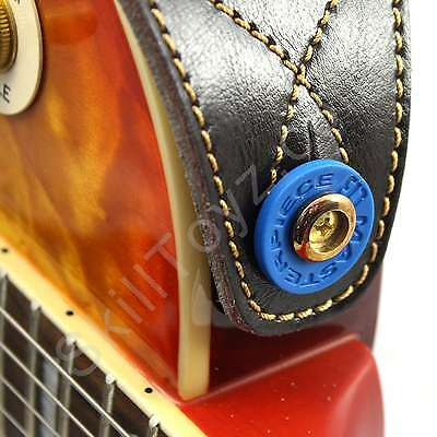 guitar strap locks flexible plastic grolsch style washer choose quantity blue ebay. Black Bedroom Furniture Sets. Home Design Ideas