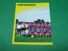 N°78 EQUIPE PART 1 LB CHÂTEAUROUX LBC PANINI FOOT 98 FOOTBALL 1997-1998