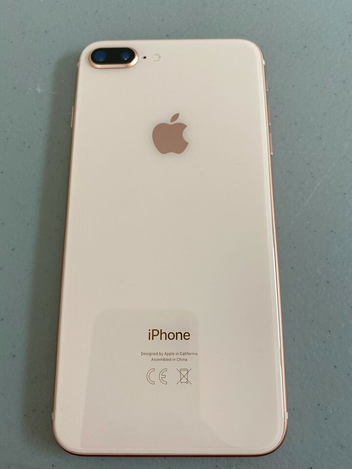 iPhone 8 Plus, 256 GB, guld