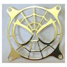 80mm Spiderman (Gold) Laser Cut Steel  Fan Grill