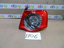 06 - 08 VOLKSWAGEN PASSAT PASSENGER Side Tail LED Light Used Rear Lamp #1706-T