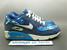 Youth Size 7Y Multicolor Nike Air Max 90 Camouflage Sneakers