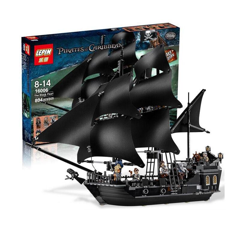 Pirati dei autoaibi La Perla  Nera nave mattoni Giocattoli Regalo di Natale  fino al 65% di sconto