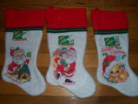 Vintage 1994 16 Christmas Stocking Rubies Costume Co Usa U Pick Not A Lot