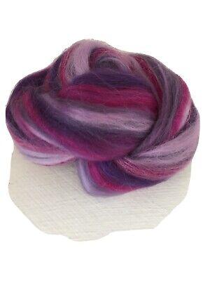 Sorbet Pastels 25g Mix Of Merino Tops Felting Fibre Arts Spinning