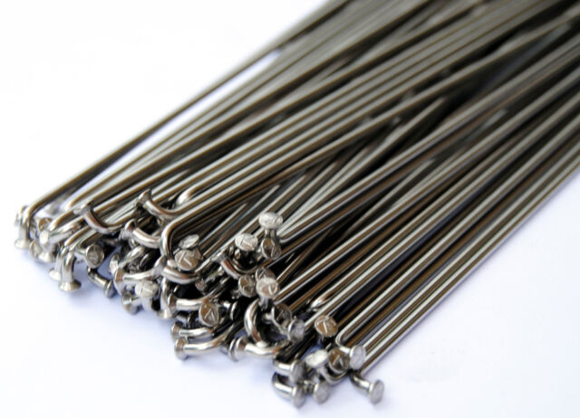 BMX bicycle stainless steel spokes 14G gauge 2.0mm 75 count 188mm