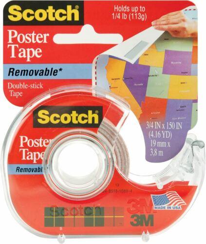"Scotch Removable Poster Tape-.75/""X150/"""