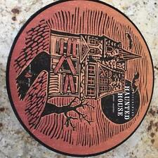 NEW POTTERY BARN HALLOWEEN PLATES HAUNTED HOUSE Witch Cat Pumpkin SETof 4 SPOOKY