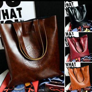 Women-039-s-Shoulder-Bag-Handbag-Ladies-Tote-Purse-Leather-Messenger-Hobo-Bag-Lot