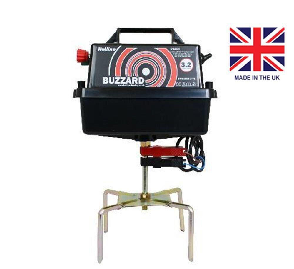 Hotline Buzzard Electric Fencing Energiser,Electric Fence Energiser,Free Postage