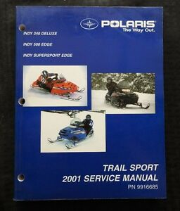 2001 polaris indy 340 500 deluxe edge supersport snowmobile service rh ebay com Polaris Classic 600 Snowmobile Polaris Classic 600 Snowmobile