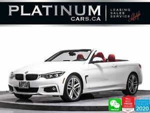 2019 BMW 4 Series 440i xDrive, M-SPORT, CONVERTIBLE, PADDLE SHIFTERS