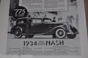 1934-NASH-Ambassador-Eight-advertisement-Nash-Motors-Vintage-Auto-ad