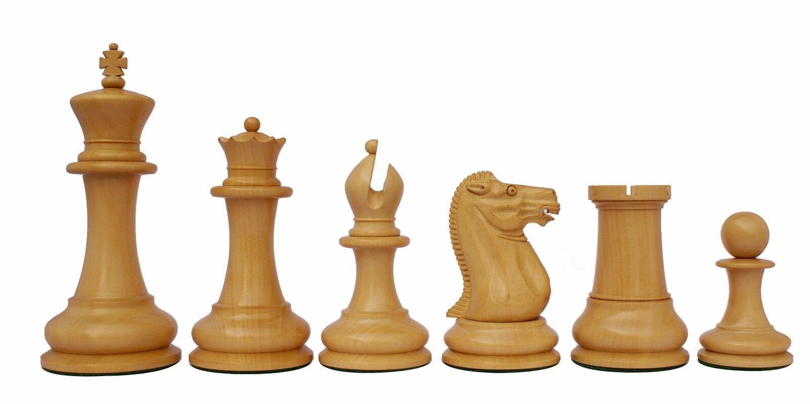 Reproduction Jaques Jaques Jaques Circa 1870-74 Staunton 4.4  Chessmen Box Wood & Pure Ebony 9ecca5