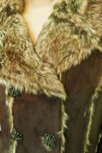 Cappotto Brown Faux caldo Fur Woman Ddp 7wr7qp