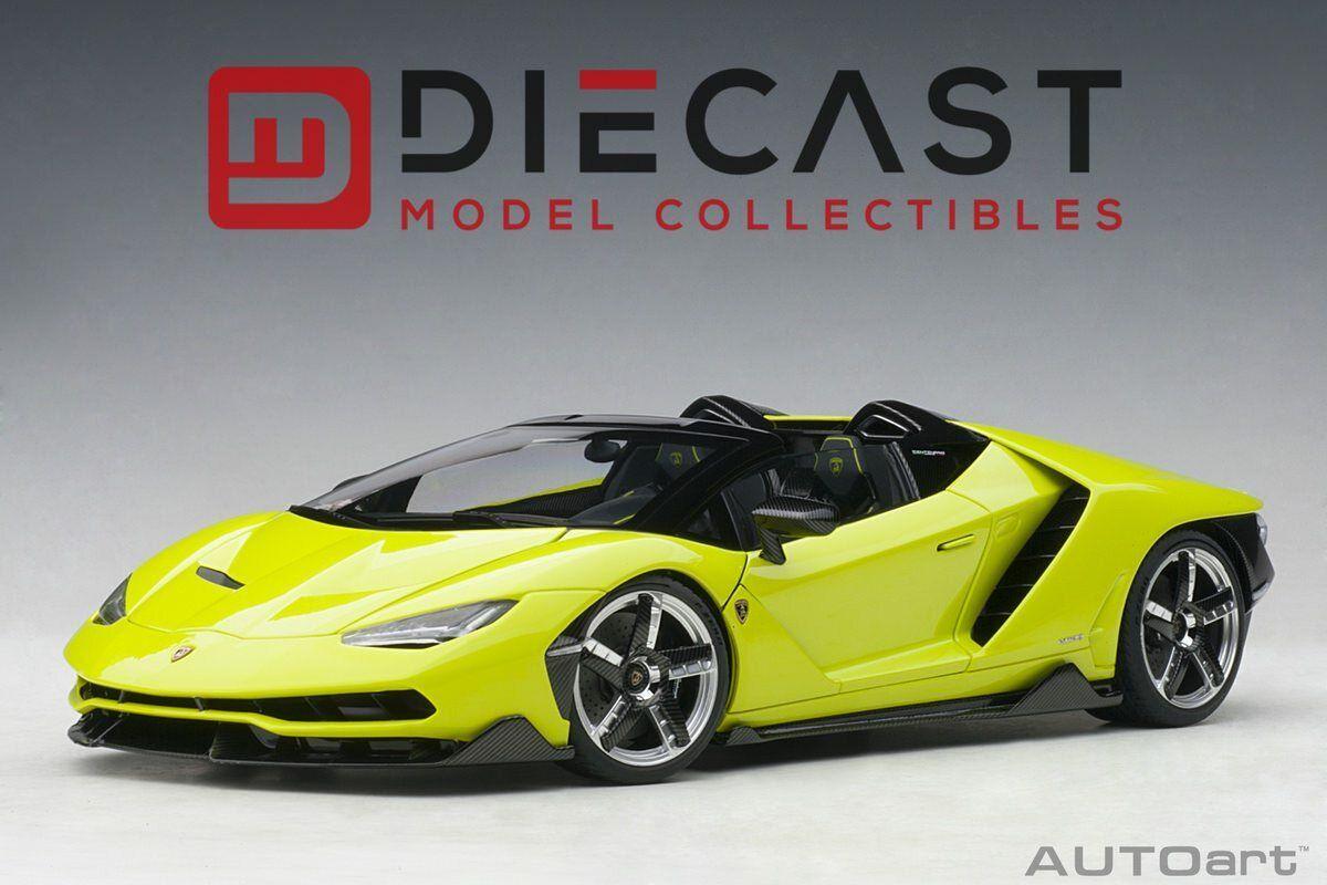 Miglior prezzo AUTOart 79118 Lamborghini Centenario stradaster (Solid Light verde) 1 1 1 18TH Scale  più economico
