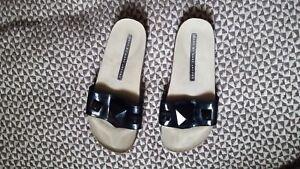 3 Uk 36 Black condizioni Eu Size Marc Jacobs Sandals Vernis Ottime qwK7Cp