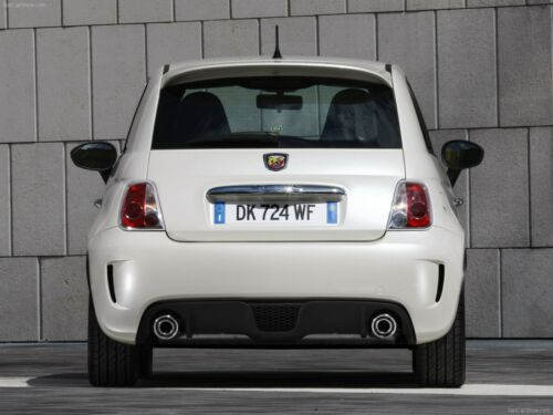 """SMALLER THAN ABARTH PRE-PAINTED /""""POP-STYLE/"""" REAR SPOILER FOR 2012-2017 FIAT 500"""