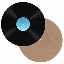 "Popmarket 12/"" Anti-Static Cork Turntable Mat Vinyl Accessory"