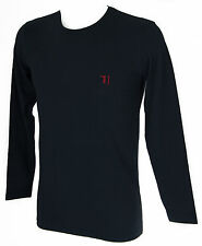 T-shirt maglia giro uomo TRUSSARDI JEANS art.TR0029 taglia XXL col.117 MARINO