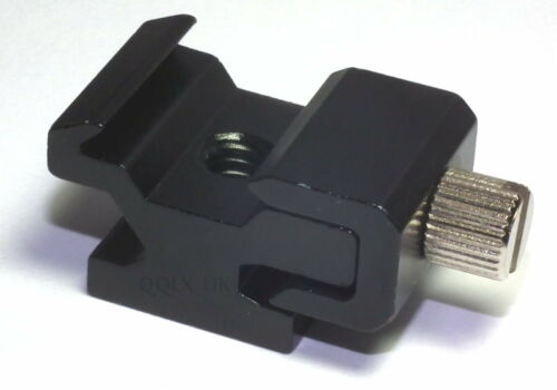 """SALE Hot Shoe Flash Stand Adapter with 1//4/""""-20 Tripod screw"""