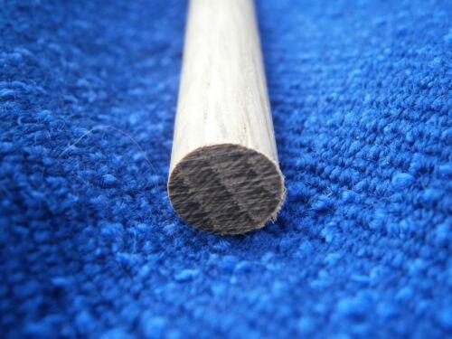 1pc  12mm diameter x 30cm Oak dowel Rod