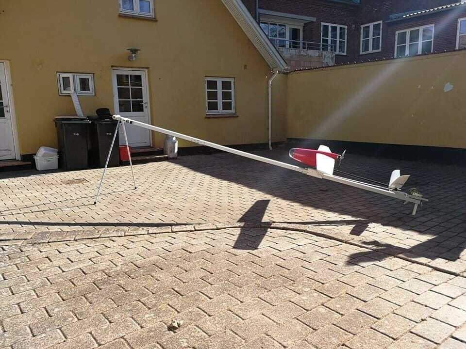 Drone, Fastvinget kamera 300cm