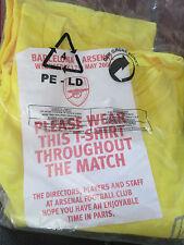 Arsenal Vs Barcelona CL Final 2006 Football T Shirt Size XL /bi IN BAG PARIS