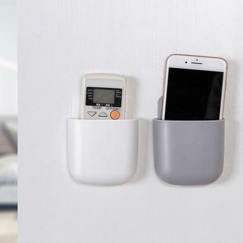 TV Air Conditioner Remote Control Holder Case Phone Wall Mount Storage Box