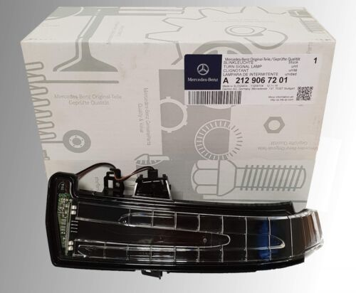 Original Mercedes-Benz intermitentes espejo intermitentes CLS c218 x218 w218 led a la izquierda