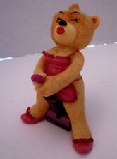 Bad Taste Bears Figurine JOY Novelty Gag Gift Nasty Adult Funny. Vacuum. Retired