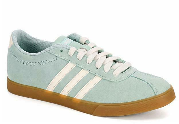 Adidas Courtset Pale Green Women's Sneakers Athletic shoes Leather B44626