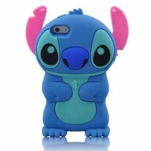 For IPhone 5 5S 5C SE 3D Stitch Soft Silicone Character ...  For IPhone 5 5S...