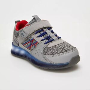 Stride Rite Surprize Boys Toddlers 4 7 5 12 Ardo Light-Up Sneakers Gray 10
