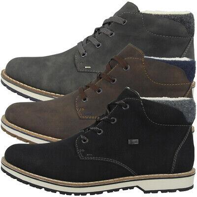 Rieker Filz Schuhe Men Herren Antistress Winter Halbschuhe Boots Stiefel 39211 | eBay