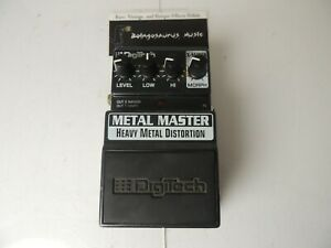 Digitech Metal Master High Gain Distortion Effects Pedal Free USA Shipping
