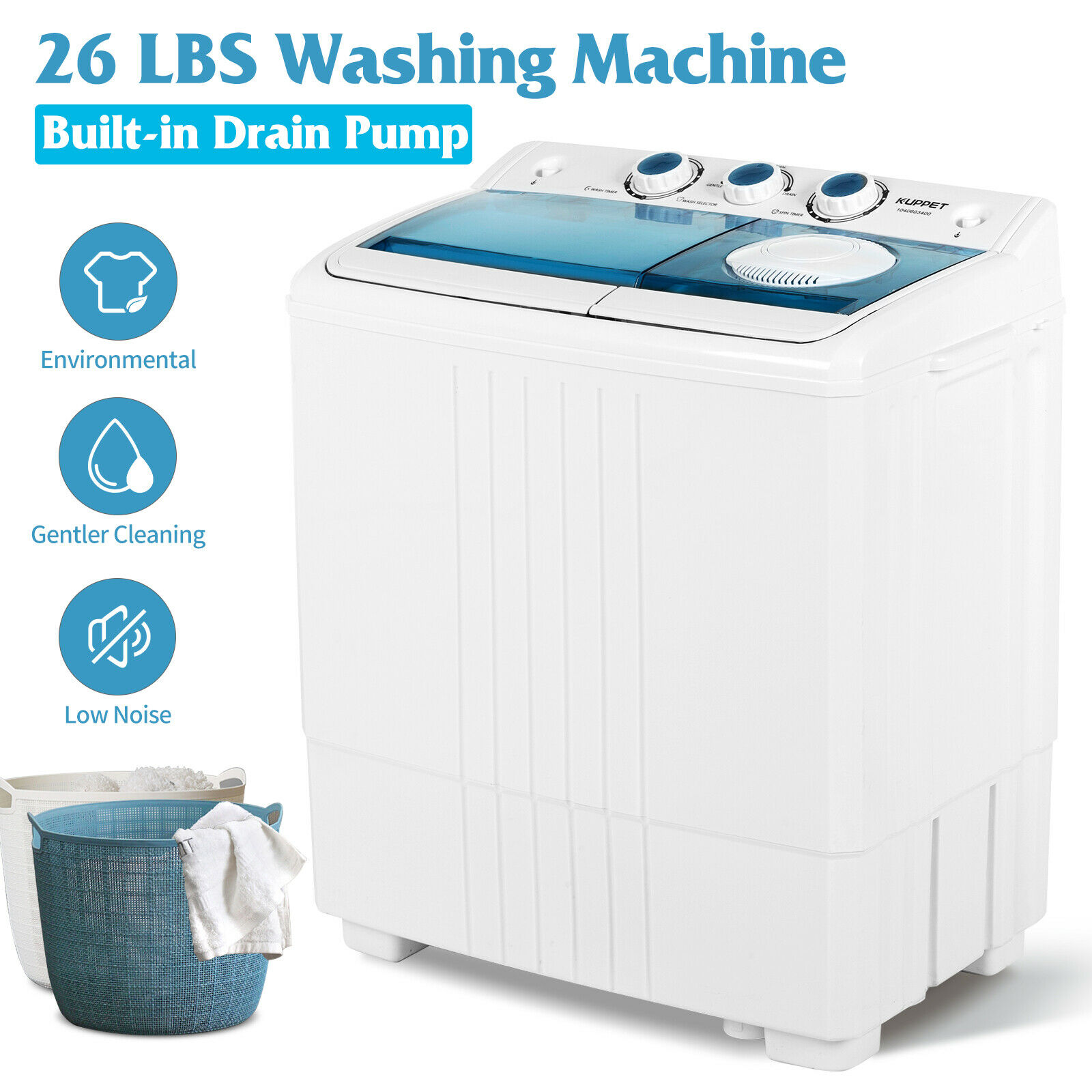 washing machine and dryer in one
