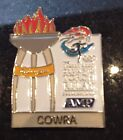 COWRA Sydney 2000 Olympic Torch Relay AMP sponsor pin