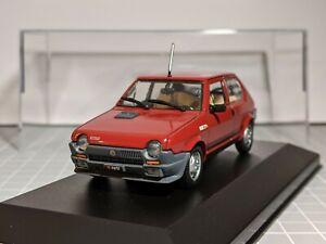 Fiat Ritmo (Strada) Abarth Rojo 1/43 Norev Raro