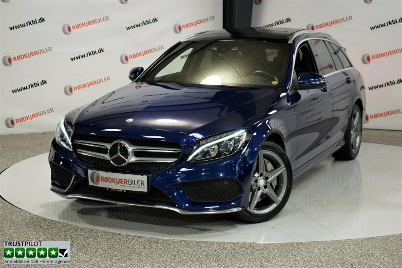 Mercedes C250 d 2,2 AMG Line stc. aut. 5d - 3.995 kr.
