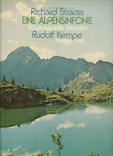 """RICHARD STRAUSS EINE ALPENSINFONIE DRESDEN RUDOLF KEMPE 12"""" LP (b316)"""
