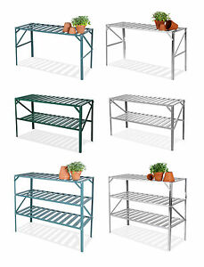 Lacewing-Greenhouse-Staging-Shelving-Shelves-Bench-Aluminium-Metal-Storage-Shelf