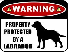 Warning Property Protected by a Chihuahua Laminated Dog Sign SP274