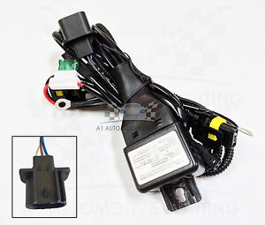 Details about HID Relay Harness H13 (9008) 12V 35W/55W Bi-Xenon Hi/Lo on