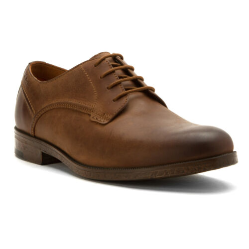 Men/'s Clarks 1825 Collection Brocton Walk Lace Oxford Shoes Tan Brown 26119341