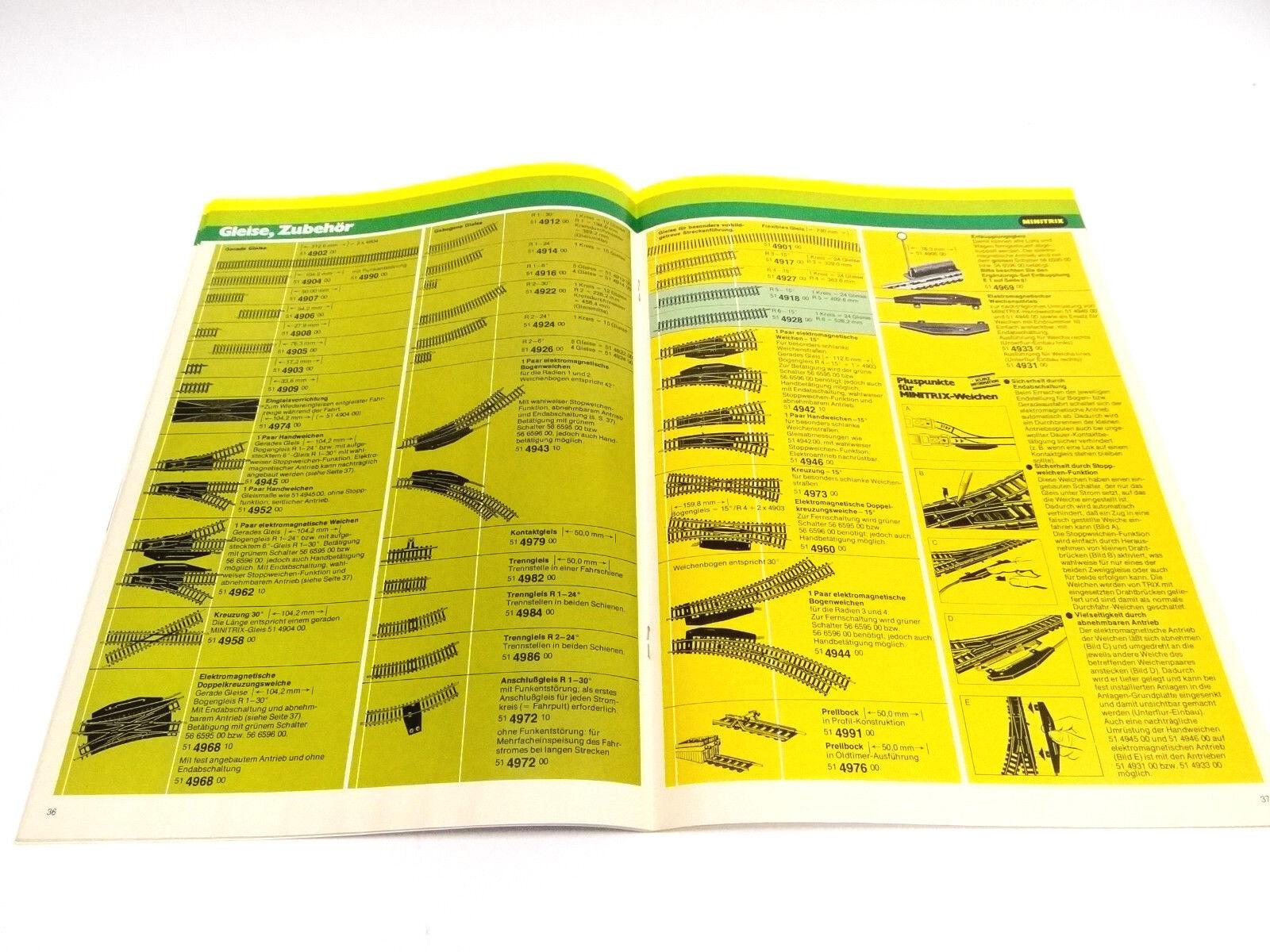 Trix Trix Trix total de catálogo de 1977 1978 con lista de precios 89c558
